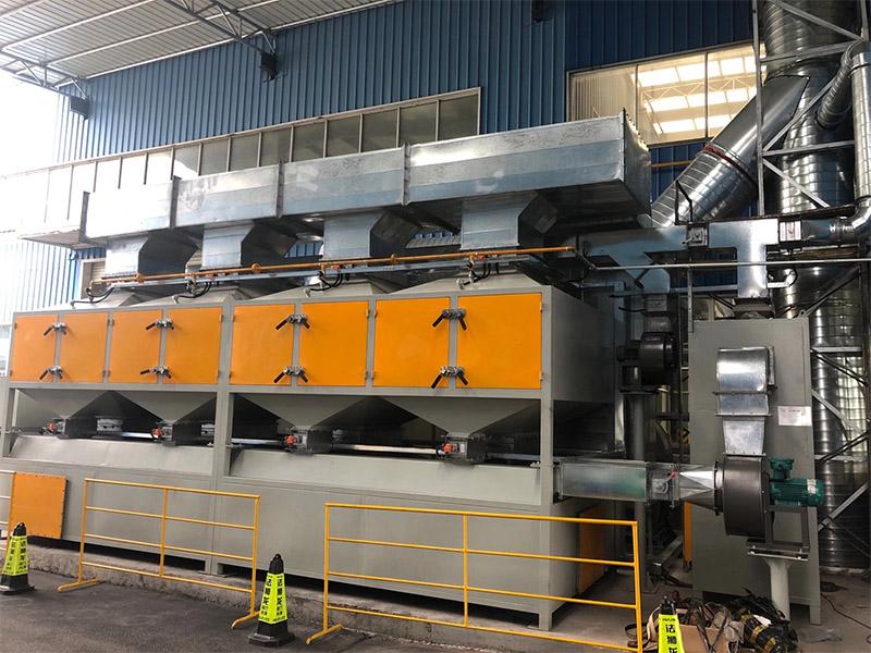 催化燃烧(RCO)喷漆废气治理设备