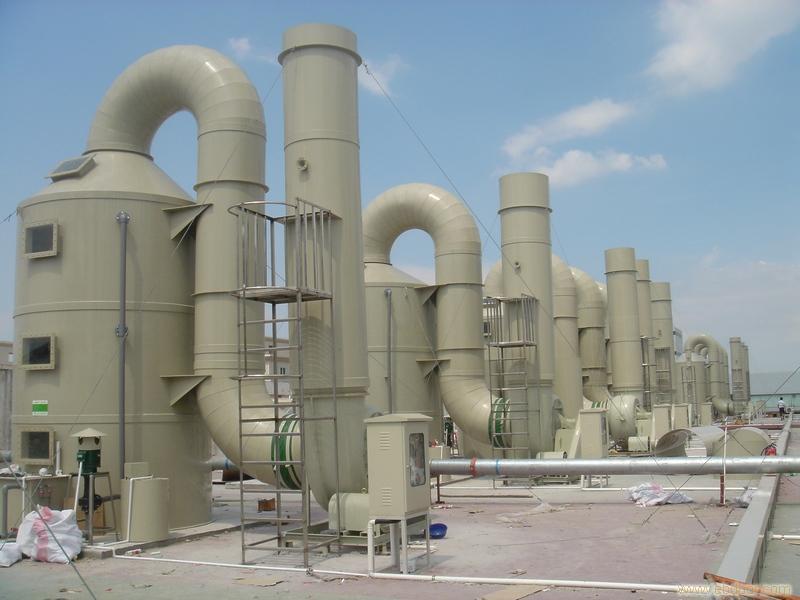 电池厂废气处理工程