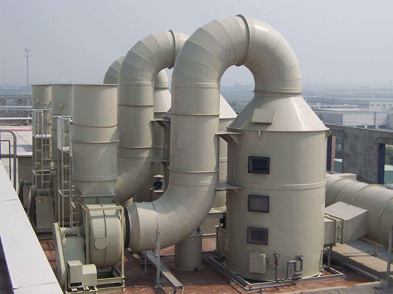大型塑胶厂粉尘处理工程