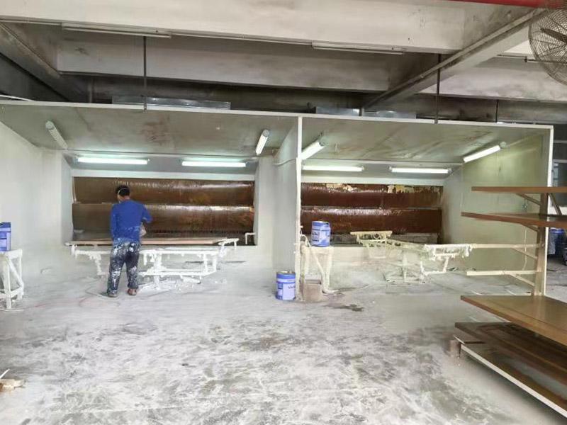 东莞家具厂喷漆废气治理案例