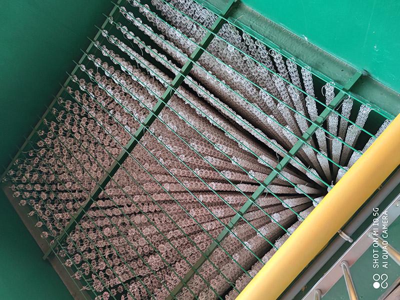 废水处理工程生物填料安装