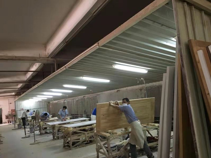 东莞家具厂喷漆打磨粉尘治理工程