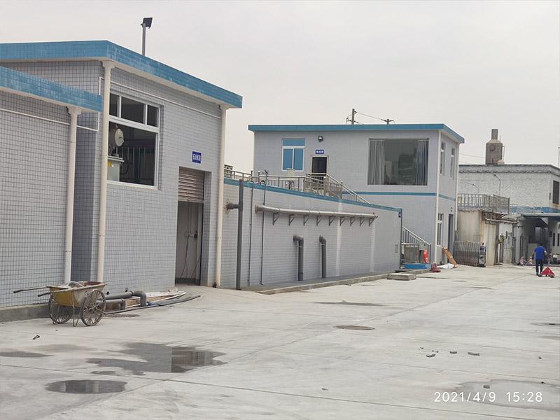 废水处理工程安装完工
