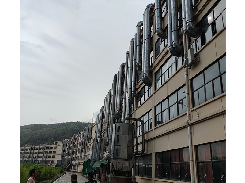 大型家具厂废气收集治理工程
